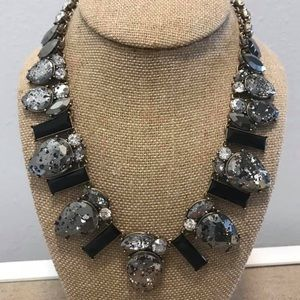 Midnight Palace Statement Collar Necklace